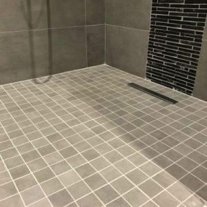 Porcelain Wet Room R-11 Mosaics